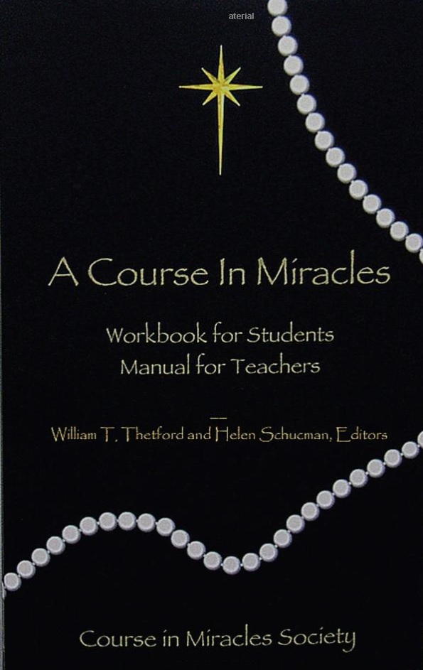 SLIGHTLY BRUISED - A COURSE IN MIRACLES ORIGINAL EDITION® Pocket-Sized Workbook/Manual for Teachers