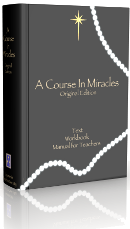 A COURSE IN MIRACLES a Hard Cover Edition