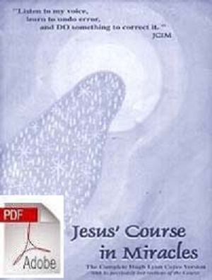 JESUS' COURSE IN MIRACLES e-BOOK [PDF]
