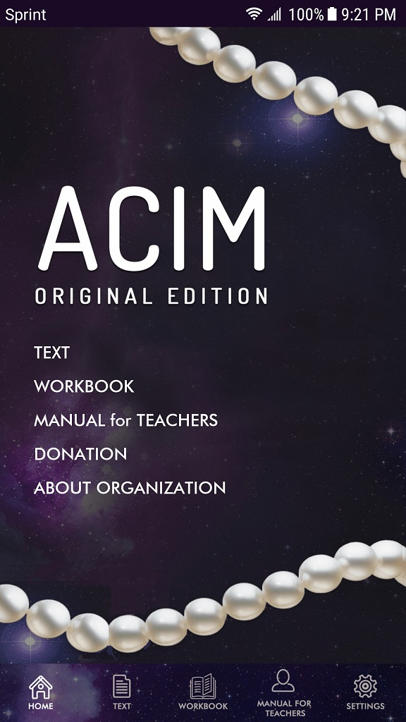 ACIM MENU Android