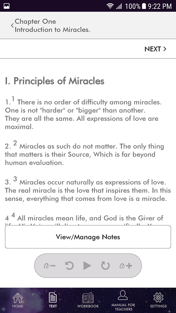 ACIM TEXT Android