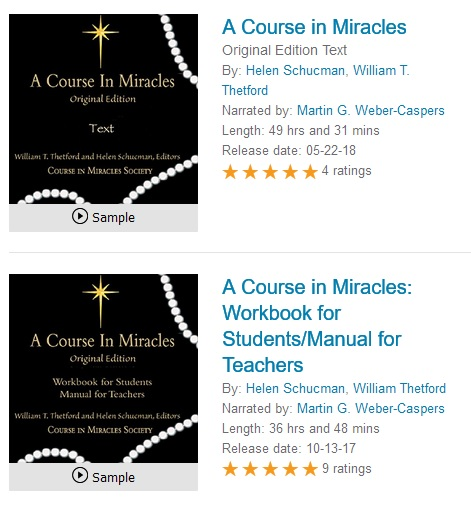 ACIM OE on Audible